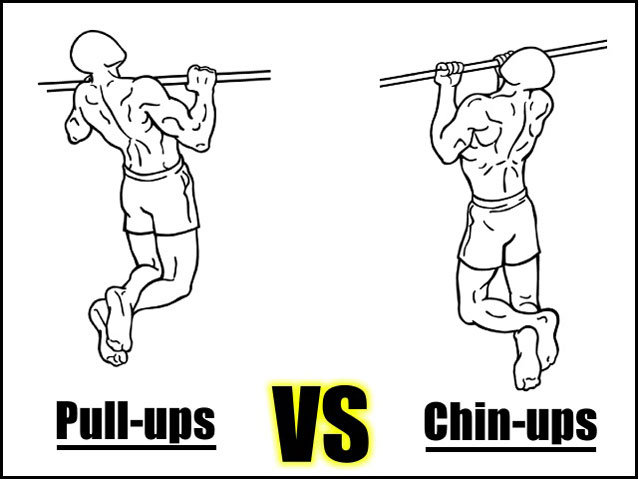 Pull Ups Vs Chin Ups Which One Is Better What Builds More Muscle